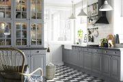 Фото 8 Как выбрать плитку на кухонный пол: обзор лучших интерьерных решений и советы специалистов