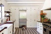 Фото 9 Как выбрать плитку на кухонный пол: обзор лучших интерьерных решений и советы специалистов