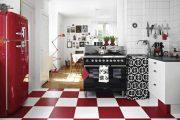 Фото 4 Как выбрать плитку на кухонный пол: обзор лучших интерьерных решений и советы специалистов