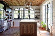Фото 12 Как выбрать плитку на кухонный пол: обзор лучших интерьерных решений и советы специалистов