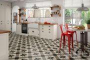 Фото 14 Как выбрать плитку на кухонный пол: обзор лучших интерьерных решений и советы специалистов