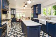 Фото 17 Как выбрать плитку на кухонный пол: обзор лучших интерьерных решений и советы специалистов