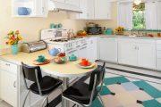 Фото 21 Как выбрать плитку на кухонный пол: обзор лучших интерьерных решений и советы специалистов