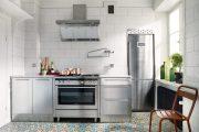Фото 28 Как выбрать плитку на кухонный пол: обзор лучших интерьерных решений и советы специалистов