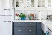 Фото 40 Как выбрать плитку на кухонный пол: обзор лучших интерьерных решений и советы специалистов