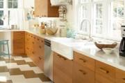 Фото 11 Плитка на кухне: 45 изящных и функциональных вариантов отделки пола