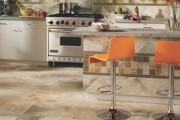 Фото 12 Плитка на кухне: 45 изящных и функциональных вариантов отделки пола