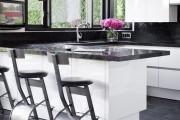 Фото 13 Плитка на кухне: 45 изящных и функциональных вариантов отделки пола