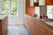 Фото 14 Плитка на кухне: 45 изящных и функциональных вариантов отделки пола