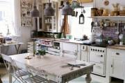Фото 18 Плитка на кухне: 45 изящных и функциональных вариантов отделки пола