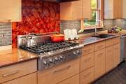 Фото 20 Плитка на кухне: 45 изящных и функциональных вариантов отделки пола