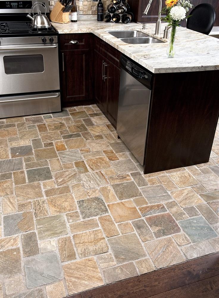 Какую плитку выбрать на пол на кухню и в прихожую - выбираем ...   1000x736