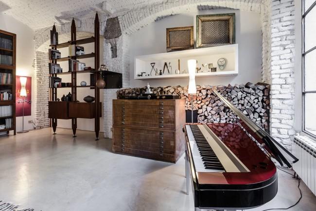 Еще один ракурс итальянской квартиры (см. выше) дизайна студии NM-ARCHITETTI под руководством Ниси Маньони