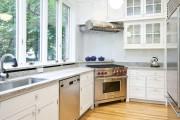 Фото 1 Угловые кухонные гарнитуры (90+ фотоидей): обзор стильных и современных решений для маленькой кухни (2019)