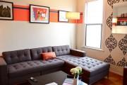 Фото 3 Угловые диваны в гостиной: 75 решений для тех, кто выбирает комфорт и релаксацию
