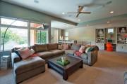 Фото 4 Угловые диваны в гостиной: 75 решений для тех, кто выбирает комфорт и релаксацию