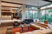 Фото 6 Угловые диваны в гостиной: 55 решений для тех, кто выбирает комфорт и релаксацию