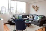 Фото 7 Угловые диваны в гостиной: 75 решений для тех, кто выбирает комфорт и релаксацию
