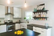 Фото 7 Угловые кухонные гарнитуры (90+ фотоидей): обзор стильных и современных решений для маленькой кухни (2019)