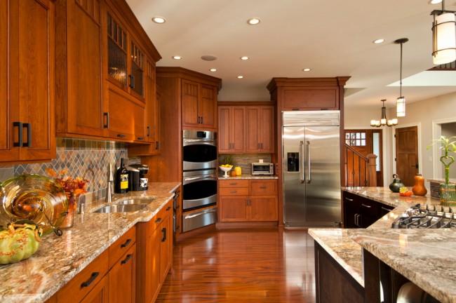В наше время кухни невозможно представить без лаконичного и выразительного гарнитура, в котором каждой мелочи найдется своё место