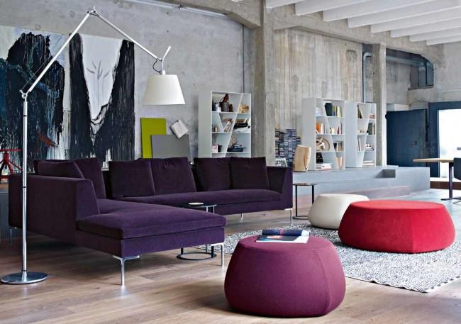 В силу своей универсальности и сочетаемости серый цвет является одним из самых популярных в интерьере, ведь при помощи серых стен можно сделать яркую и оригинальную комнату