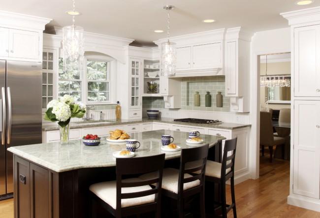 Угловой гарнитур для вашей кухни станет практичным и функциональным решением