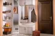 Фото 2 Угловые шкафы в прихожую: как оптимально задействовать пространство и 45+ лучших реализаций в интерьере