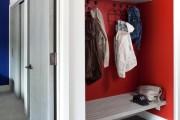 Фото 10 Угловые шкафы в прихожую: как оптимально задействовать пространство и 45+ лучших реализаций в интерьере