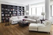 Фото 2 Угловые стенки для гостиной: 40+ вместительных и функциональных решений для комфортного интерьера