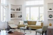 Фото 5 Угловые стенки для гостиной: 40+ вместительных и функциональных решений для комфортного интерьера