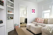 Фото 7 Угловые стенки для гостиной: 60 вместительных и функциональных решений для комфортного интерьера