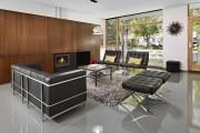 Фото 4 Угловые стенки для гостиной: 40+ вместительных и функциональных решений для комфортного интерьера