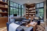 Фото 14 Угловые стенки для гостиной: 60 вместительных и функциональных решений для комфортного интерьера