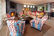 Фото 17 Угловые стенки для гостиной: 40+ вместительных и функциональных решений для комфортного интерьера