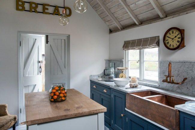 Стиль кантри в оформлении кухни