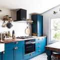 Бело-голубая кухня: как гармонизировать интерьер и 85 беспроигрышных вариантов оформления фото