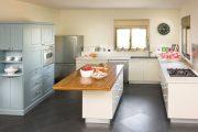 Фото 18 Бело-голубая кухня: как гармонизировать интерьер и 85 беспроигрышных вариантов оформления