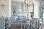 Фото 23 Бело-голубая кухня: как гармонизировать интерьер и 85 беспроигрышных вариантов оформления
