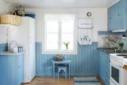Фото 26 Бело-голубая кухня: как гармонизировать интерьер и 85 беспроигрышных вариантов оформления