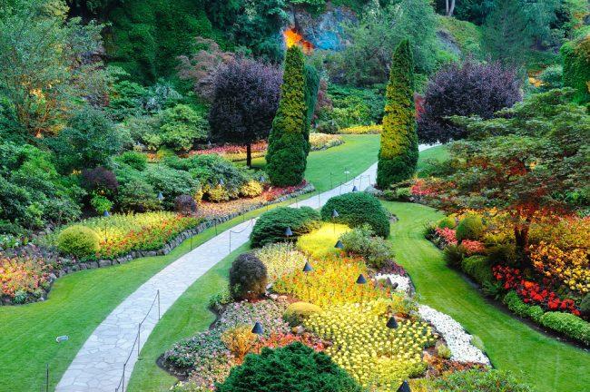 При правильном подходе к дизайну вашего сада, он может стать настоящим произведением искусства