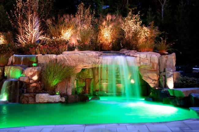 Искусственные водоемы придадут свежести вашему ландшафту