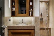 Фото 1 Дизайн небольшой ванной: как использовать пространство и 80+ функционально продуманных интерьеров