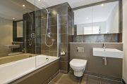 Фото 36 Дизайн небольшой ванной: как использовать пространство и 80+ функционально продуманных интерьеров