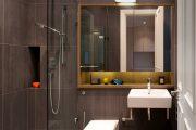 Фото 37 Дизайн небольшой ванной: как использовать пространство и 80+ функционально продуманных интерьеров