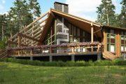 Фото 8 Проекты домов из бруса: комфорт для всей семьи и 70+ надежных и практичных реализаций