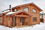 Фото 19 Проекты домов из бруса: комфорт для всей семьи и 70+ надежных и практичных реализаций