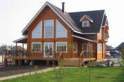 Фото 34 Проекты домов из бруса: комфорт для всей семьи и 95+ надежных и практичных реализаций