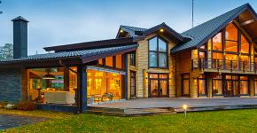 Дома из бруса: готовые проекты и 70+ надежных и комфортных реализаций фото