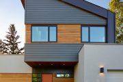 Фото 35 Фасадные панели для наружной отделки дома: разновидности и 80 практичных решений для стильного экстерьера