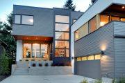 Фото 41 Фасадные панели для наружной отделки дома: разновидности и 80 практичных решений для стильного экстерьера